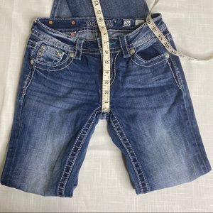MISS ME Signature Boot Jeans Size 26